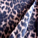 Tessuto di memoria del poliestere con stampa del fascio per gli indumenti