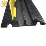 Желтый пиджак резиновые 2 каналов кабельного рампы / пресечению рампы с плавным регулированием скорости