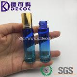 a cor 10ml crepuscular desvanece-se o frasco de vidro do rolo com a esfera de rolo do metal para o petróleo de Essentail