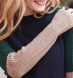Lange Strickjacke der Hülsen-2017, Pullover für Frauen