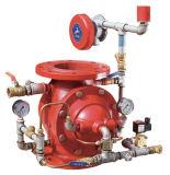 Válvula manual da água da porta do aço de carbono