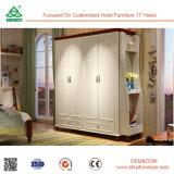 O pingamento de madeira dos projetos do Wardrobe do quarto moderno dos Wardrobes do bebê do estilo monta o Wardrobe do armário