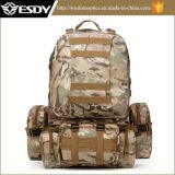 Hiking Backpack более дешевых воиска камуфлирования взбираясь ся