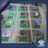 Kundenspezifischer Aufkleber des Hologramm-3D mit farbenreichem Druck