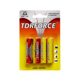 1.5volt de primaire Non-Rechargeable Alkalische Batterij van aa met Ce/ISO (lr6-aa-AM3)