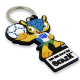Chaîne matérielle de clé USB de PVC de cadeau promotionnel (W-24)