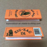 Libretes del papel de embalaje del zigzag que fuman