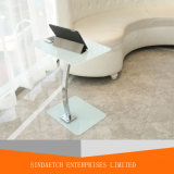 최신 판매 유리제 휴대용 퍼스널 컴퓨터 테이블 컴퓨터 책상