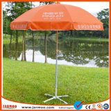 Im Freiensun-Regenschirm mit Firmenzeichen-Drucken für das Bekanntmachen