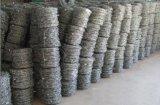 Двойная сталь закрутки 14 колючей проволоки гальванизированных датчиком