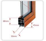 El aluminio ventanas fijas con una buena calidad