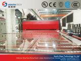 Horno plano doble del vidrio Tempered de las cámaras de calefacción de Southtech (TPG-2)