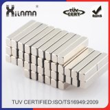 La barra de N52 el imán de neodimio NdFeB Rare Earth Magnet Industrial permanente