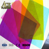 En relief en PVC souple Film clair de couleur pour le dossier papier/support de fichiers/Magazine/brochure