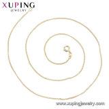 43910 Xupingの方法14K金カラー微粒整形ネックレス