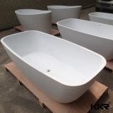 Freestanding Badkuip van de Steen van de Oppervlakte van Sanitaryware de Ovale Acryl Stevige (BT170929)