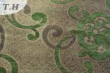 Tissu de Chenille tissé par vente en gros de polyester de tissu de sofa