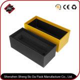 Personalizar la impresión monocroma de papel rectangular Caja de cartón de regalo