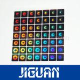 Collant fait sur commande d'étiquette d'hologramme de garantie de l'or 3D de laser 2D de logo