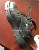De industriële Werkende Schoenen van de Teen van het Staal van de Veiligheid van het Leer van de Slijtage Pu