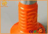 防水反射オレンジ45cm Roadtrafficの警告のポスト