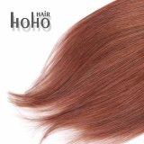 Onda diritta di alta qualità clip del Brown da 18 pollici nell'estensione dei capelli