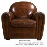 Классический роскошный кожаный Hotel Club кресло старинная мебель (QS-621)