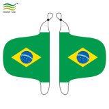 Couverture de miroir de véhicule de cuvette de monde de football du Brésil (NF13F14024)