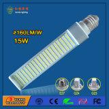 12W 1500lm horizontale Birne des G24-LED, die tadellos Osram 26W Energieeinsparung Lampe ersetzt