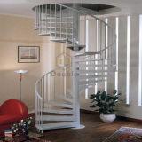 Escadaria da espiral do aço de carbono para a casa de Morden