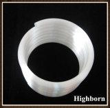 Tubo a spirale del tubo della tubazione del quarzo del silicone fuso radura di resistenza termica per il riscaldatore