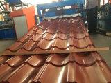 Le type antique a ridé la toiture glacée des tôles d'acier de couleur PPGI/PPGL