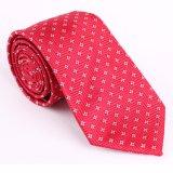 Cravate tissée par polyester à la mode neuf de modèle (50974-7)