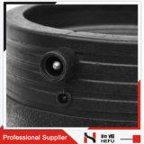 バット融合の黒の管のガスのための十字の減少のティーの付属品