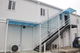 Casa Prefab pré-fabricada da construção de aço do recipiente vivo móvel da casa para a venda