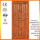 Portes intérieures classiques en bois solide en bois de chêne de type avec la peinture d'unité centrale