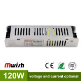 12V 10A 120W LED de corriente constante en el interior de luces LED de alimentación