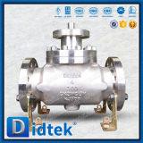 Vávula de bola superior de alta presión de la entrada de Didtek Ck3vcun