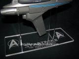 Étagère en acrylique Clear Slatwall personnalisée
