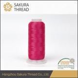 Oeko-Tex 100の装飾的なふさのための佐倉のレーヨンEmobroideryの糸