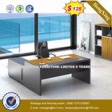 木のメラミンテーブルの上の現代執行部の机(HX-8N0912)