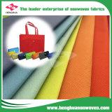 Tessuto non tessuto di colori scuri per il sacchetto di acquisto di modo con il PUNTINO