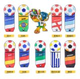 Funny Custom 16 GB USB 3.0 Cartoon Sport Bola Forma Futebol disco flash USB de alta velocidade Copa do Mundo