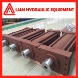 Double cylindre hydraulique temporaire de plongeur pour le projet de garde de l'eau