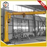 Pescante giratorio Crane 1.5 ton con el polipasto de cadena de viaje