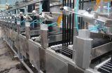 Nuevo tipo de poliéster de alta temperatura continua de las cintas de nylon teñido y acabado la máquina