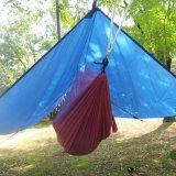 휴대용 닫집 옥외 전망대 야영 천막을 하이킹하는 방수 차일