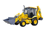 Side Shift 100HP 4X4 Hydraulic New Backhoe Loader Price Wz30-25