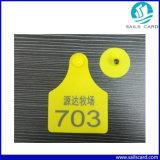 De plastic Dierlijke Markering van het Oor met Code Qr voor Vee