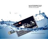 le prix le meilleur marché du visite 32GB de carte de visite professionnelle de disque nommé de flash USB